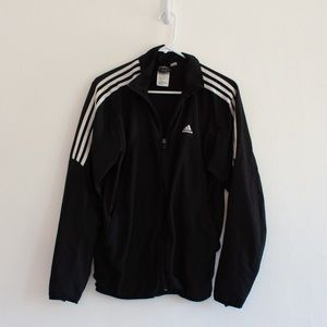 Men's Black Adidas jacket